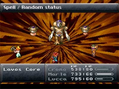 Final battle from Chrono Trigger
