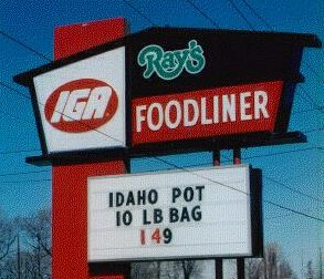 Idaho Pot, 10lb bag