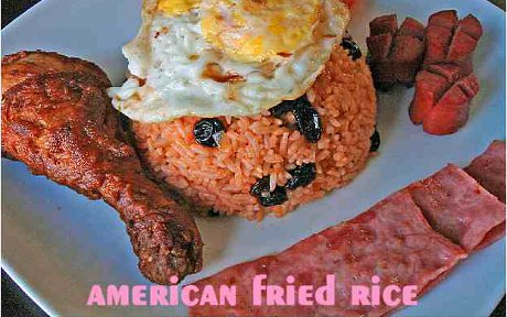 American Fried Rice, as seen in Thailand