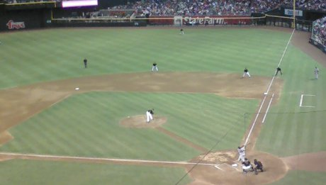 watching the Diamondbacks lose horribly