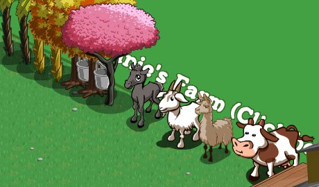 some animals of FarmVille