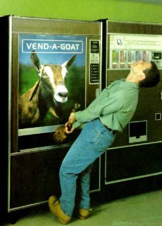 vend-a-goat machine