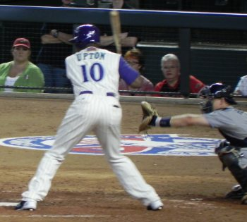 Justin Upton pinch hitting in 2011