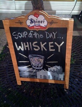Soup of the Day: Whiskey!