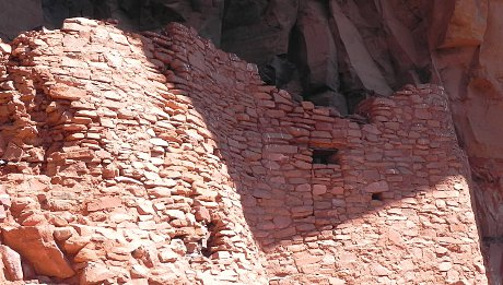pre-Columbian Indian ruins west of Sedona