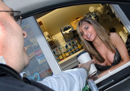 What a bikini barista might look like.