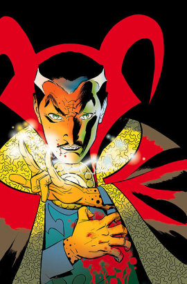 Dr. Strange, who seems to have hurt his hand