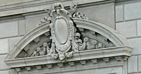 lintel on the Security Building in downtown Phoenix, Central and Van Buren
